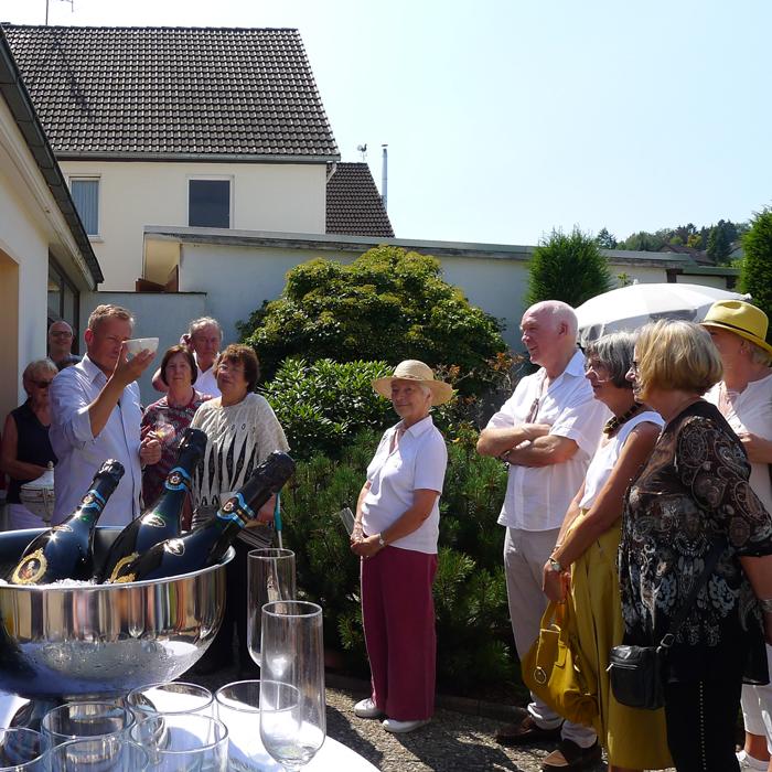 Der Freundeskreis kam zu Besuch - Freundeskreis Fürstenberger Porzellan e.V.